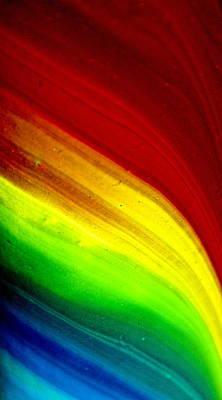 Color Stream Original by Sandra Pena de Ortiz