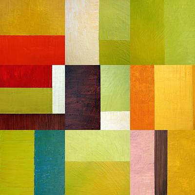 Painting - Color Study Abstract 10.0 by Michelle Calkins