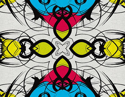Digital Art - Color Symmetry 3 by Shawna Rowe