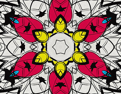 Digital Art - Color Symmetry 4 by Shawna Rowe