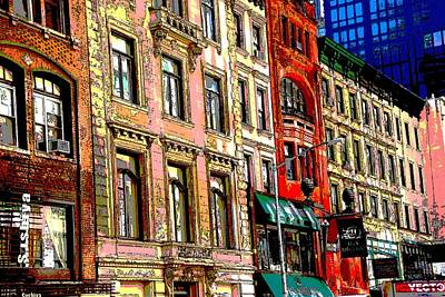 Photograph - Color The City New York by Thomas Fouch