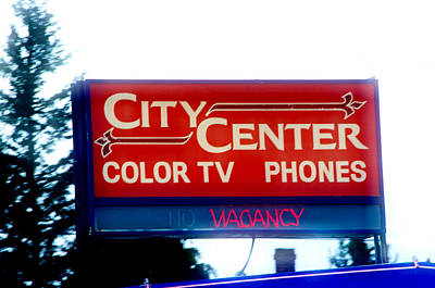 Photograph - Color Tv by Adria Trail