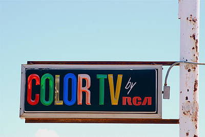 Photograph - Color Tv by Louise Morgan