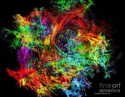 Digital Art - Color Wheel by Kathie Chicoine