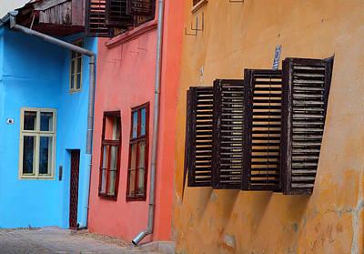 Photograph - Color Windows by Robert Watson