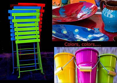 Photograph - Color Your Life 1 by Dany Lison