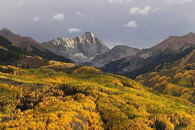 Colorado 14er Capitol Peak Art Print