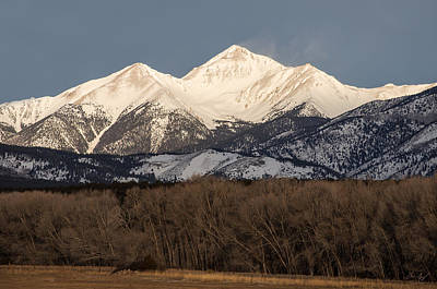 Buena Vista Photograph - Colorado 14er Mt. Yale by Aaron Spong