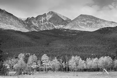 Photograph - Colorado America's Playground In Black And White by James BO  Insogna