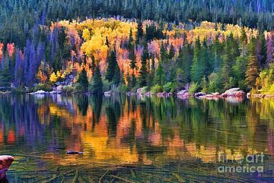 Colorado Autumn Art Print by Jon Burch Photography
