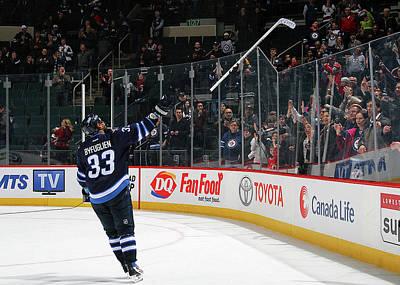 Photograph - Colorado Avalanche V Winnipeg Jets by Jonathan Kozub