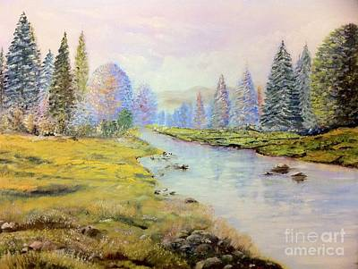 Thomas Kinkade Rights Managed Images - Colorado Royalty-Free Image by B Russo