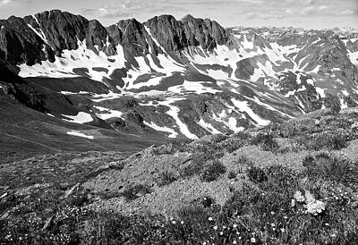 Colorado Black And White Art Print by Aaron Spong