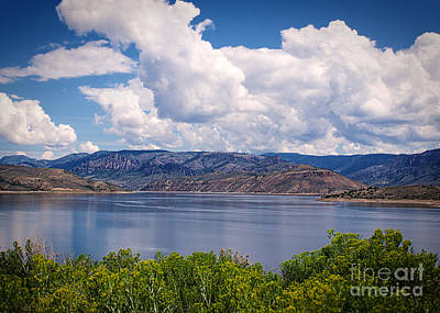 Blue Mesa Reservoir Photograph - Colorado Blue Mesa by Janice Rae Pariza
