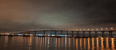 Photograph - Coronado Bridge San Diego by Gandz Photography