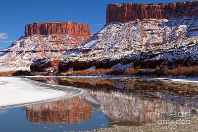 Photograph - Colorado Butte Reflections by Adam Jewell