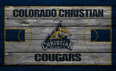 Basketball Photograph - Colorado Christian Cougars by Joe Hamilton