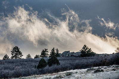 Photograph - Colorado Clouds by Karen Saunders