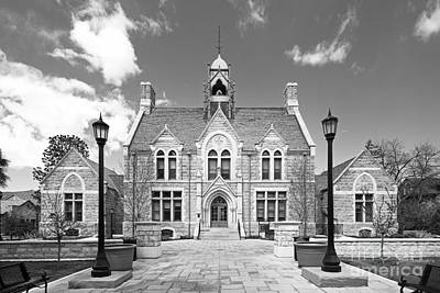 Colorado College Cutler Hall Art Print by University Icons