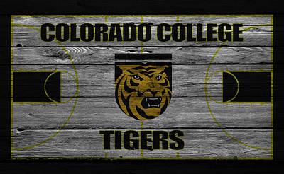 Colorado State University Photograph - Colorado College Tigers by Joe Hamilton