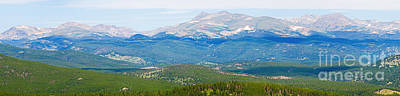 Photograph - Colorado Continental Divide Panorama Hdr Crop by James BO Insogna