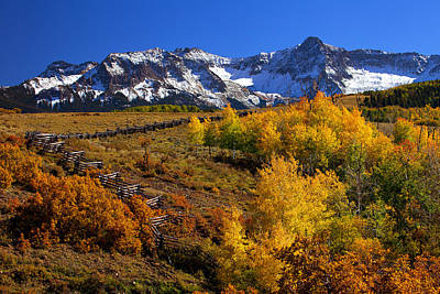 Fall Colors Photograph - Colorado Country by Darren  White
