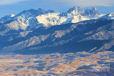 Photograph - Colorado Dune Landscape by Adam Jewell