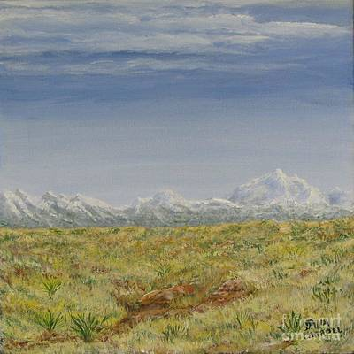 Painting - Colorado Eastern Plains by Dana Carroll