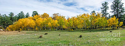 Fort Collins Photograph - Colorado Fall Panorama by Baywest Imaging