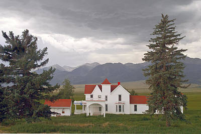 Colorado Farmhouse Photo Art Print by Peter J Sucy