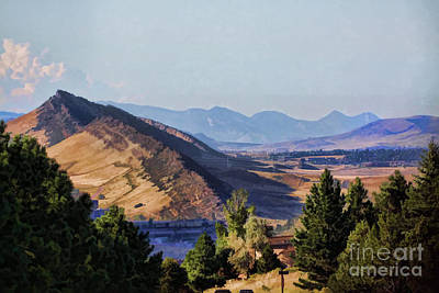 Photograph - Colorado Foothills by Audreen Gieger