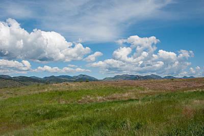 Photograph - Colorado Foothills Landscape by Cascade Colors