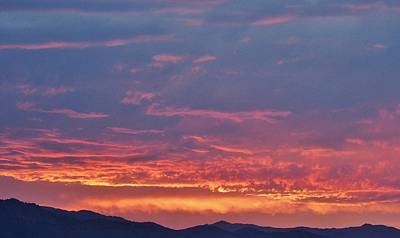 Beers On Tap - Colorado Foothills Sunset by David Pantuso