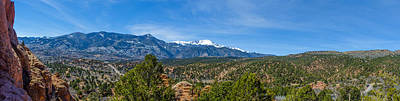 Photograph - Colorado From The Garden Of The Gods by Alan Marlowe