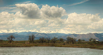 Photograph - Colorado Front Range Rocky Mountains Panorama by James BO  Insogna