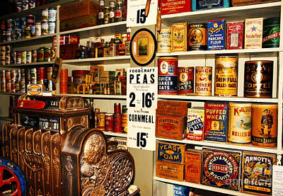 Antik Photograph - Colorado General Store Supplies by Janice Rae Pariza