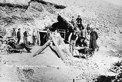 Colorado Gold Miners, 1893 Art Print by Granger