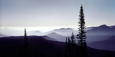 White Photograph - Colorado Haze by Adam Romanowicz