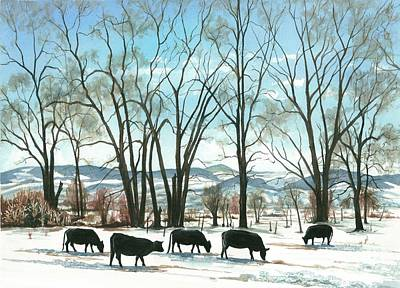 Painting - Colorado High Country by Barbara Jewell
