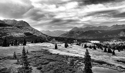 Colorado In Black And White Art Print by Dan Sproul