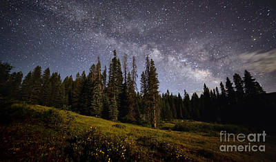 Photograph - Colorado Milky Way by Brian Spencer