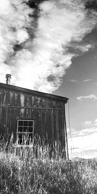 Wall Art - Painting - Colorado Mining Barn by Cathy Walters