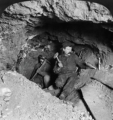 Gold Mine Photograph - Colorado Mining, C1905 by Granger