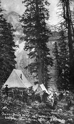 Photograph - Colorado Mining Camp, 1893 by Granger