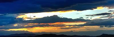 Jerry Sodorff Royalty-Free and Rights-Managed Images - Colorado Monsoon Sunset 16242 by Jerry Sodorff