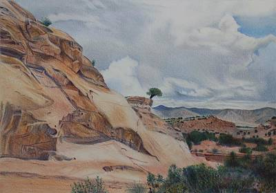Colorado Monument Country Art Print
