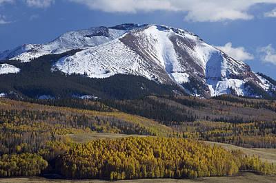 Photograph - Colorado Mountain by Byron Jorjorian