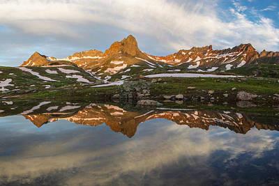 Photograph - Colorado Mountain Reflection by Aaron Spong