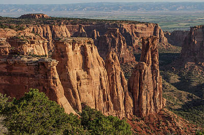 Photograph - Colorado National Monument - Monument Valley by Aaron Spong