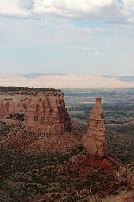 Photograph - Colorado National Monument 5 by Mary Bedy